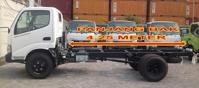 panjang truk hino dutro 130 hd