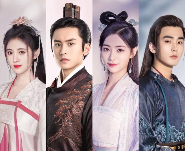 THE9's Xu Jiaqi and Liu Yichang Join Legend of Yunxi Couple Ju Jingyi and Zhang Zhehan in their Reunion Drama