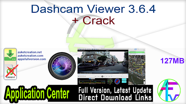 Dashcam Viewer 3.6.4 + Crack