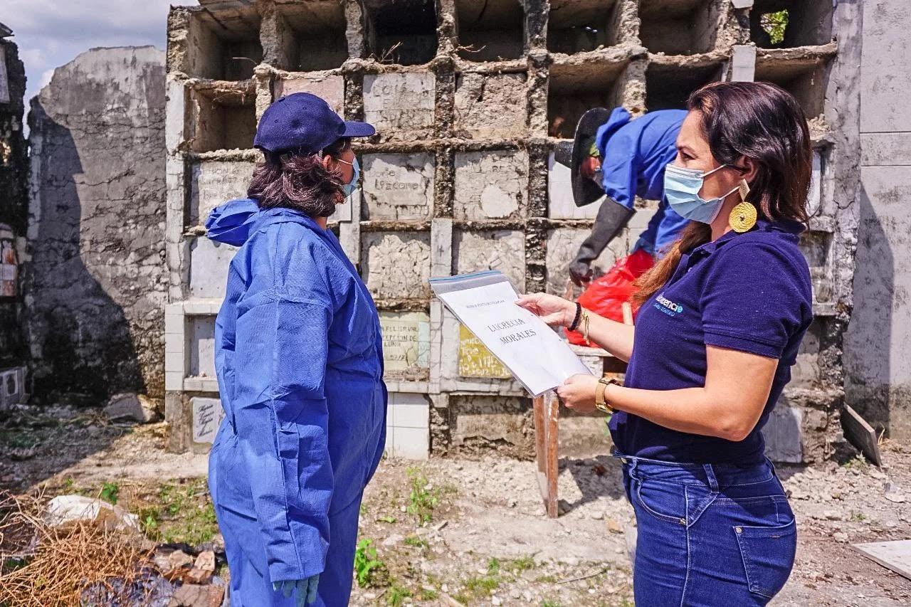 Exhuman restos en el Cementerio de Villavicencio por riesgo de colapso estructural