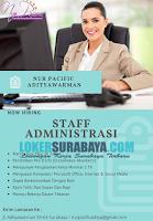 Open Recruitment at Nur Pacific Adityawarman November 2019