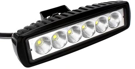 yang terdapat pada kendaraan beroda empat dan dipakai untuk menerangi sebuah  obyek atau jalan dari jara Rangkaian Lampu Sorot Mobil Otomatis