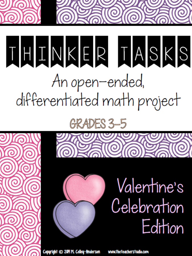 https://www.teacherspayteachers.com/Product/Thinker-Tasks-Valentine-Celebration-Math-Project-Grades-3-5-1629653