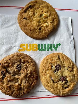 Subway Christmas Cookies 2020