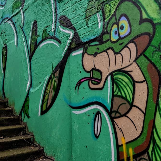 Kaa Street Art Ouseburn