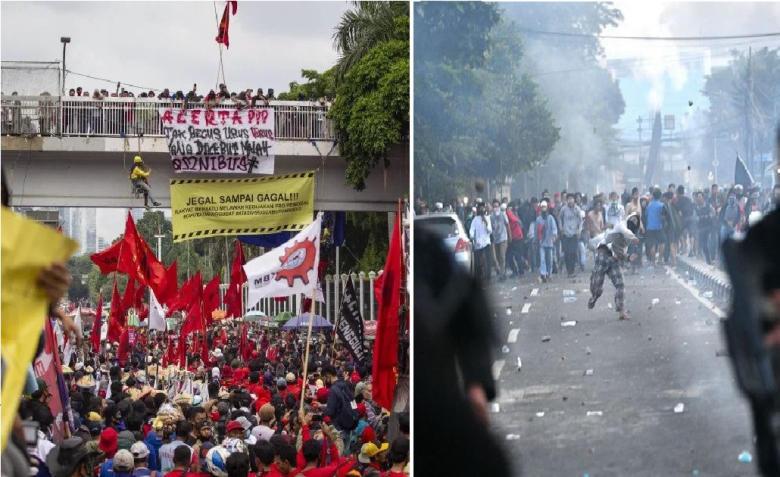 Demo Tolak Omnibus Law Dicukongi Oleh Arsitek Kerusuhan Mei 2019?
