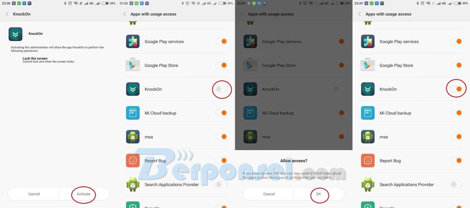 Cara Memasang dan Menggaktifkan Double Tap Screen di Xiaomi
