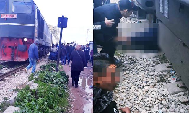 فاجعة انقلاب حافلة عمدون كانتا ترافقان جثمان احدى الضحايا فدهسهما القطار