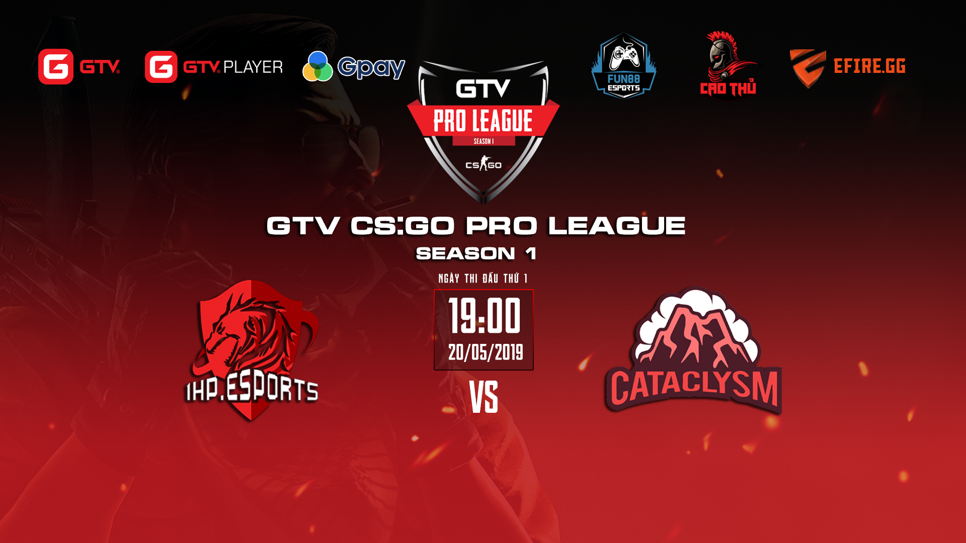 CS:GO] Mở màn GTV CS:GO Pro League Season 1: Cataclysm vs 1HP