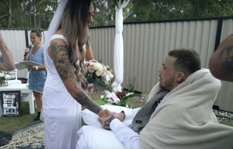 Newlywed pays touching tribute to her late husband who died a day after their wedding