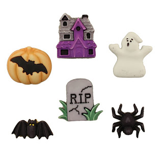 Happy Hauntings 3D buttons
