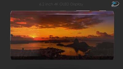 6.2 inch 4K OLED Display
