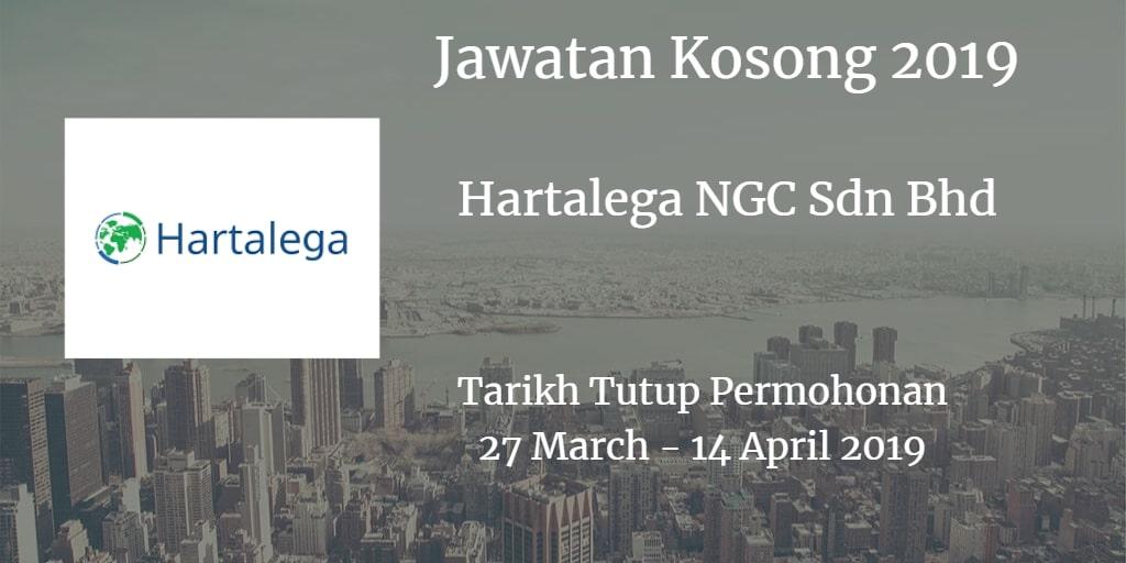 Jawatan Kosong Hartalega NGC Sdn Bhd 27 March - 14 April 2019