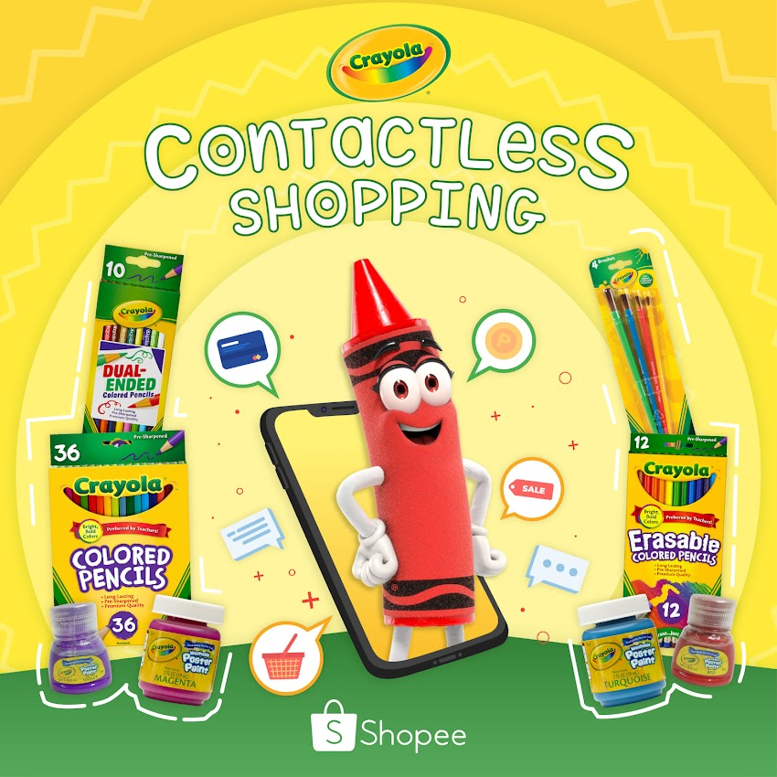 Sale Alert! Get up to 50% discount on Crayola Products until Nov. 1 on Shopee!