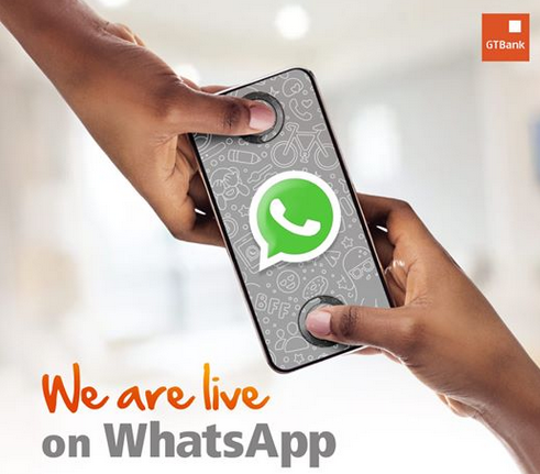 See How to Connect With GTBank on WhatsApp, Solve any Dispense Errors