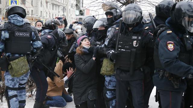 Rusia Peringatkan Pendukung Navalny untuk Tidak Demo