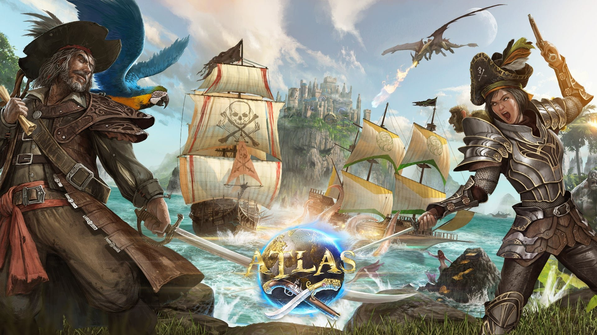 ATLAS UPDATE FORTIFIES SEA FORTS WITH GLOBAL BUFF TOWERS
