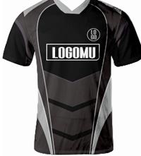 Custom T-shirt Polo Dengan Desain Fullprint