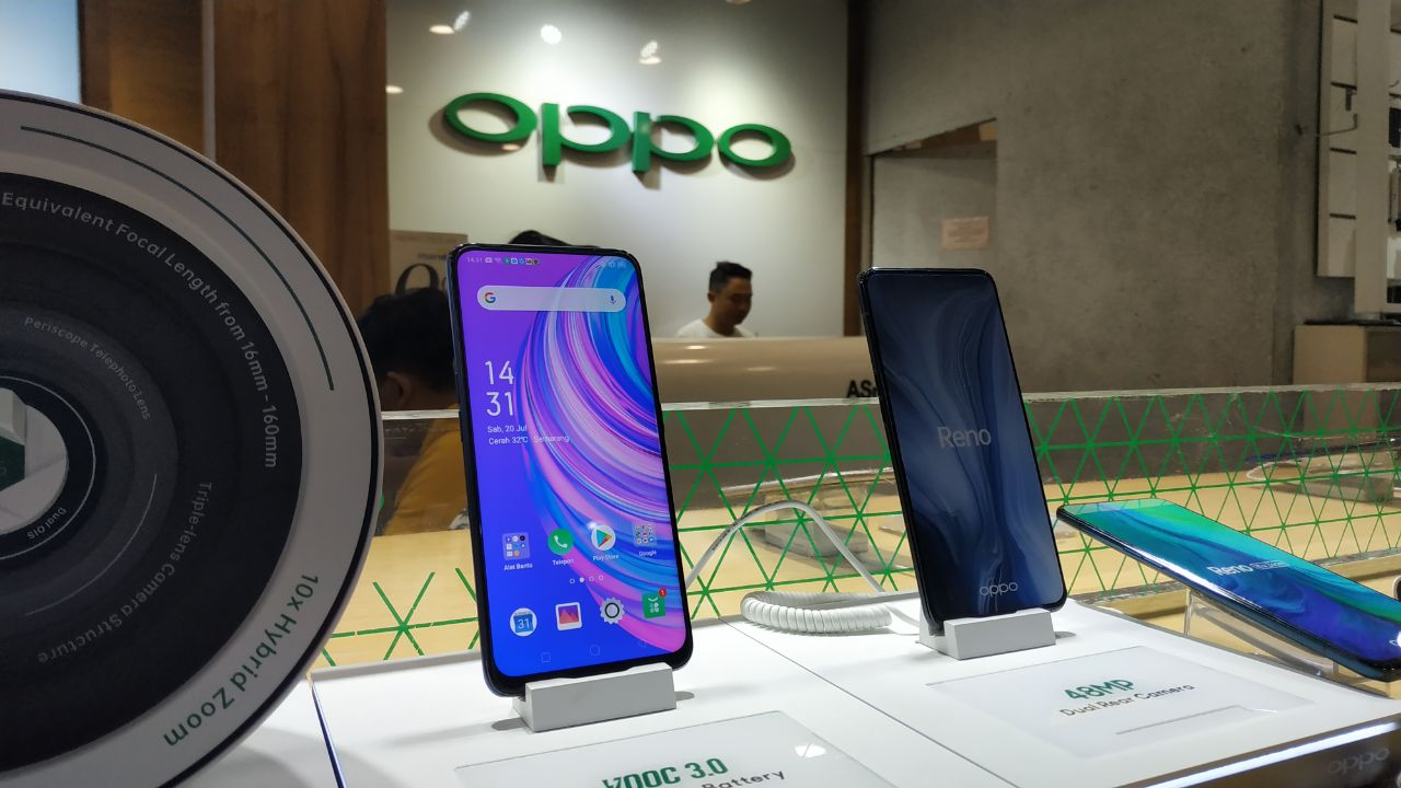 Oppo Reno3 Pasang Kamera '108 MP', Saingi Mi Note 10 & Galaxy S20 Ultra