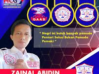 Zainal Abidin : Jadilah Pemuda Yang Bermanfaat Untuk Dirinya, Organisasinya, Bangsanya dan Orang Banyak