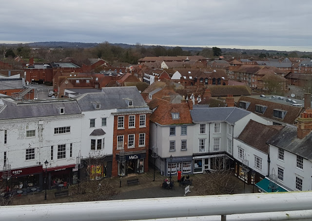A view from Abingdon's County Hall Museum