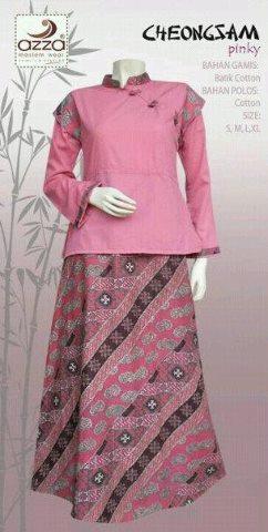 Gamis Termurah Model Gamis Batik Terbaru