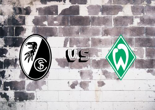 Freiburg vs Werder Bremen  Resumen
