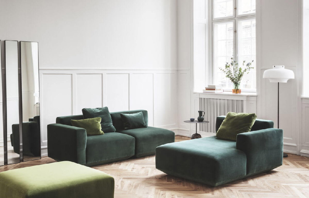 divani in velluto