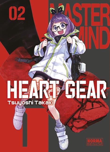 Review del manga Heart Gear Vol. 2 de Tsuyoshi Takaki - Norma Editorial