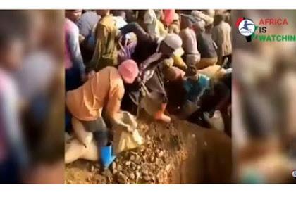 VIRAL Video Penemuan Gunung Emas di Kongo, Kini Jadi Perhatian Dunia, Harga Emas Terancam Anjlok
