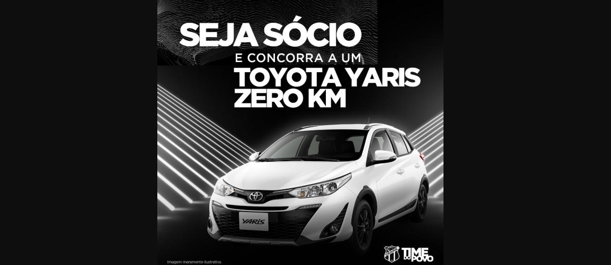Sorteio 2020 Ceará Sporting Club Toyota Yaris