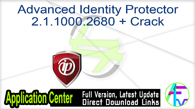 Advanced Identity Protector 2.1.1000.2680 + Crack