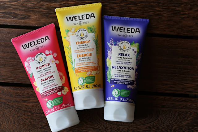 Weleda Aroma Essentials Body Wash And Nourishing Body Lotions Review, Photos