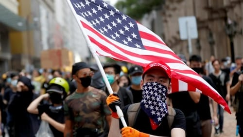 The United States started to terminate the special treatment in Hong Kong for security reasons