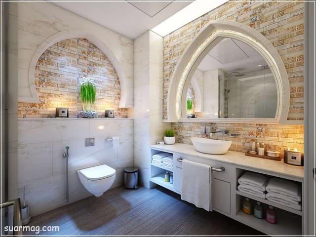 صور حمامات - حمامات مودرن 18 | Bathroom Photos - Modern Bathrooms 18