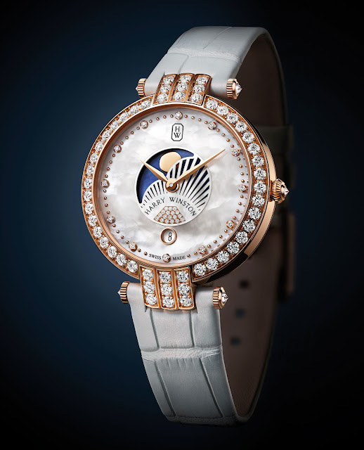 Harry Winston Premier Moon Phase 36 mm Watch