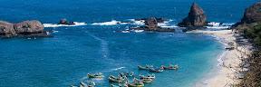 Wisata Pantai Papuma Jember Jawa Timur