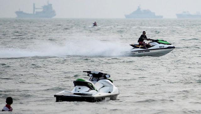 جولة مليئة بالأنشطة البحرية