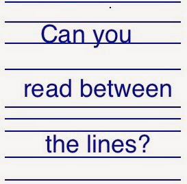"""Read Between the Lines"" Meaning of Idioms"
