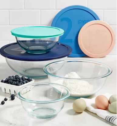MACYS - 8-Pc. Mixing Bowl Set $9.99 After $10 Mail-In Rebate
