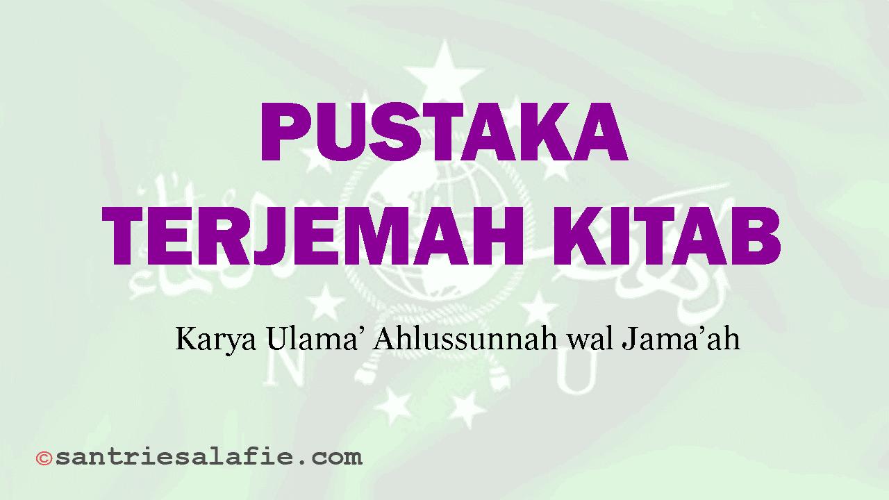 Pustaka Terjemah Kitab by Santrie Salafie