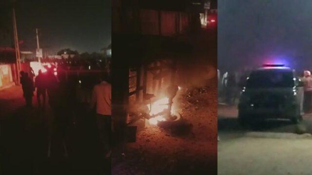 రామభక్తులపై ఇస్లాం మతోన్మాదుల రాళ్ళ దాడి.. ఒకరి మృతి, పలువురికి గాయాలు - Hindu man killed, stones pelted on Ram Mandir fundraising rally in Gujarat