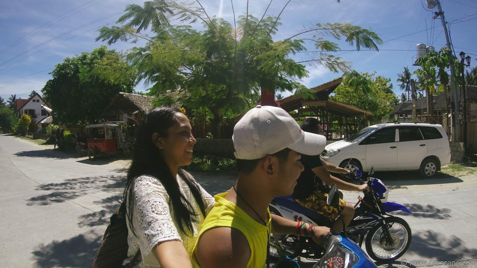 siargao island motorbike