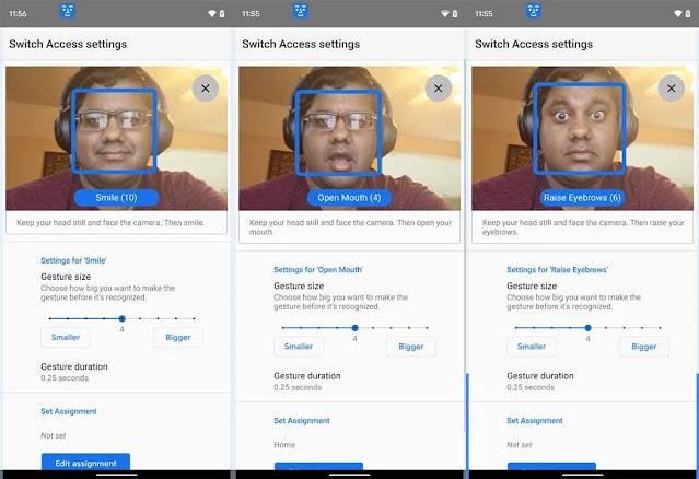 هل تريد إرسال الرسائل النصية لشخص ما عندما ترمش عينك؟ سوف يتحقق حلم التحكم في الهاتف باستخدام الإيماءات مع Android 12