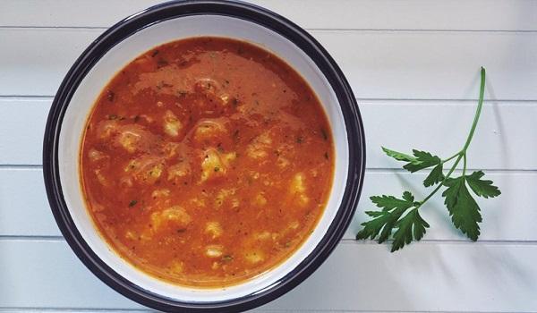 Receta de Sopa de Pescado y Langostinos