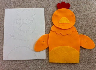 Chica Puppet first attempt