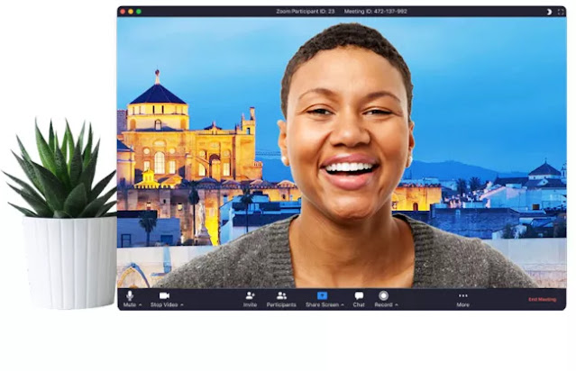 كيفية تغيير خلفية في برنامج زووم ميتنج zoom meetings