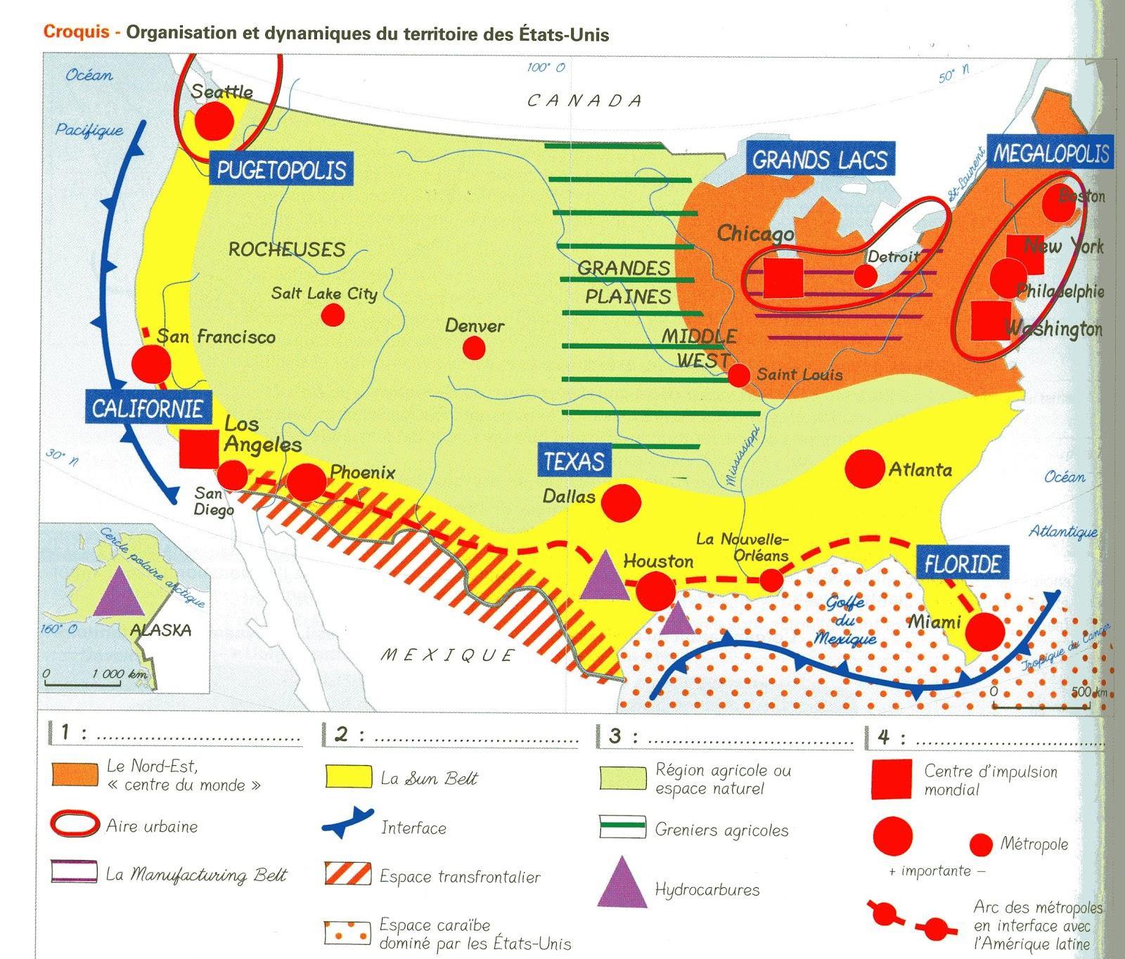 carte les dynamiques territoriales des etats unis La mémoire qui flanche: Organisation et dynamiques territoriales