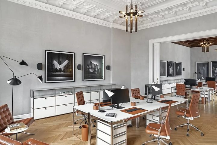 Décor Inspiration: Ultra-Chic & Modern Office Spaces by Maria Murawsky Architecture