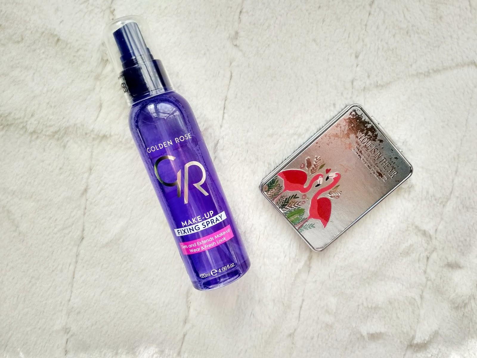 Recenzja - Golden Rose fixer do makijażu
